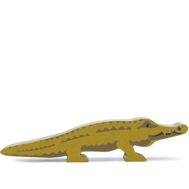Houten safaridier - Krokodil