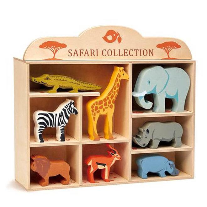 Houten safaridier - Nijlpaard