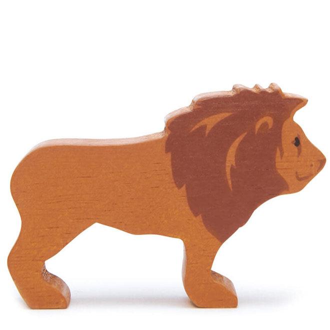 Houten safaridier - Leeuw