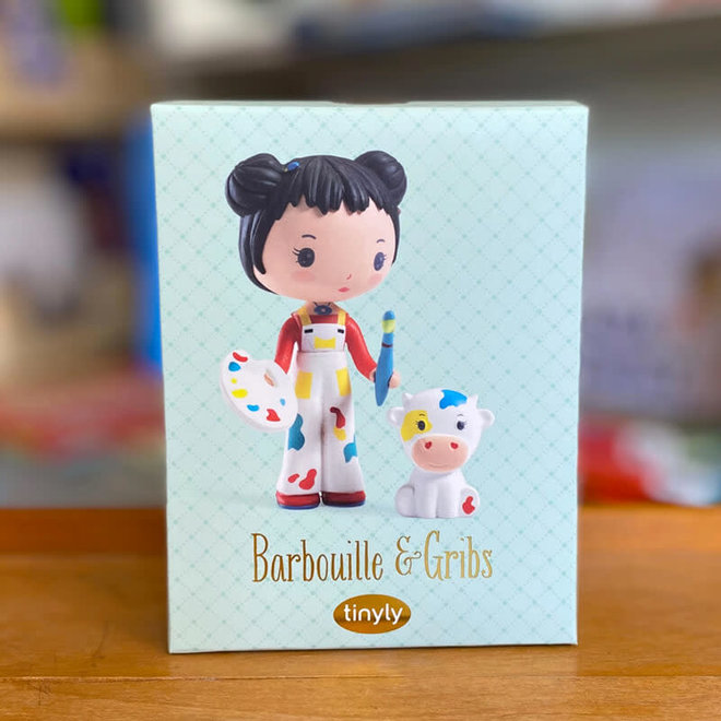 Djeco Tinyly Barbouille & Gribs