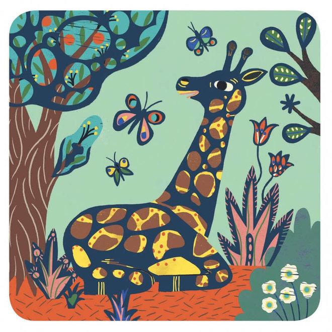 Djeco Kraskaarten Jungle