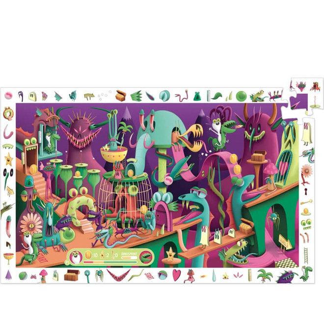 Djeco puzzel 200 stukjes - Video Game