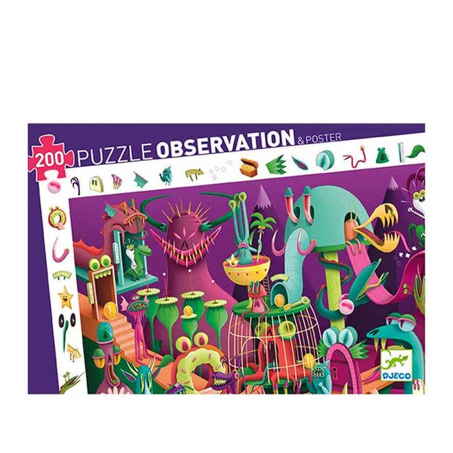 Djeco Puzzel 200 stukjes - Videogame