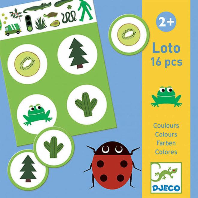 Djeco Lotto Kleuren