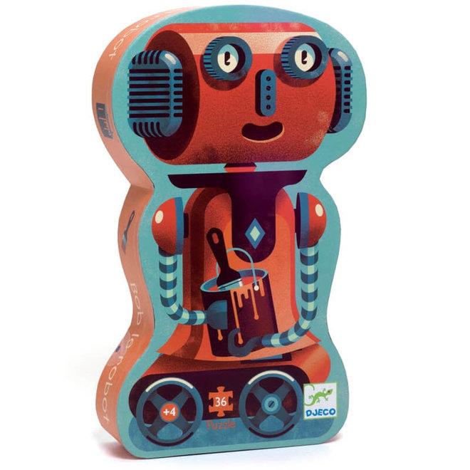 Puzzel robot (36st) 4+