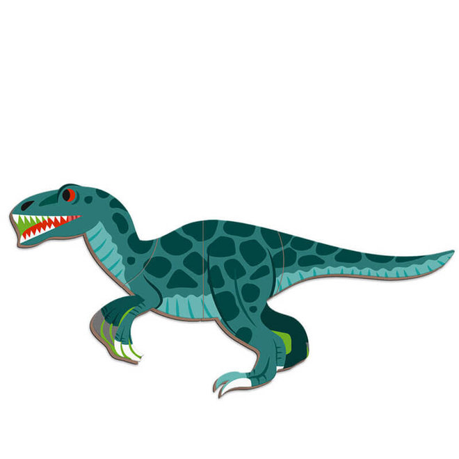 Janod Magneetboek Dinosaurus