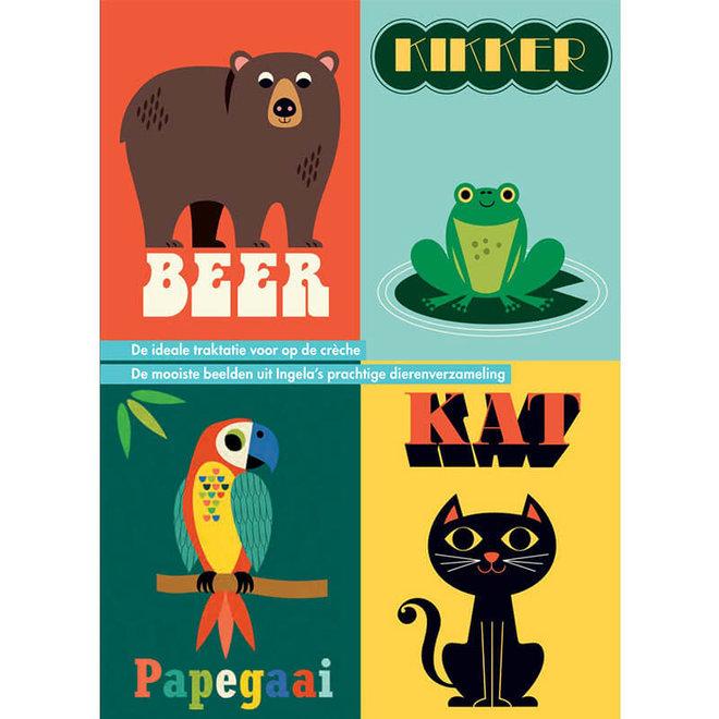 De Dieren van Ingela - 16 uitdeelboekjes