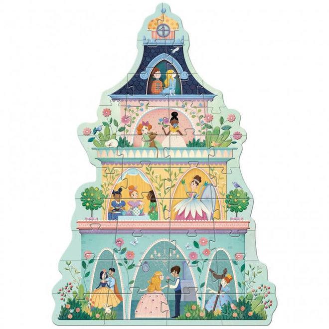 Vloerpuzzel prinsessen (36st) 4+