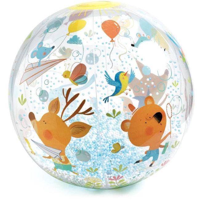 Strandbal bubbels
