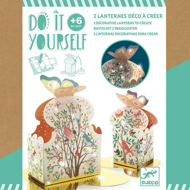 Djeco Do It Yourself - Lantaarntjes