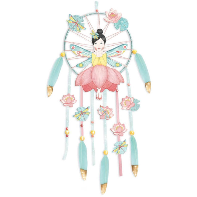 DIY knutselset dromenvanger lotus 7+