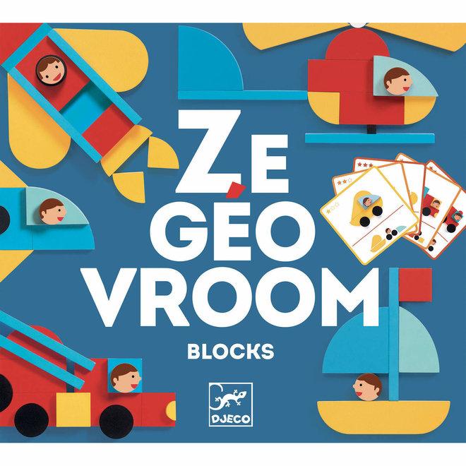 Djeco Vormen Puzzels 'Ze Geovroom'