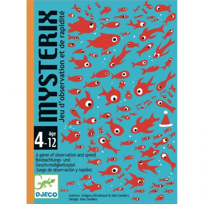 Kaartspel Mysterix 4+