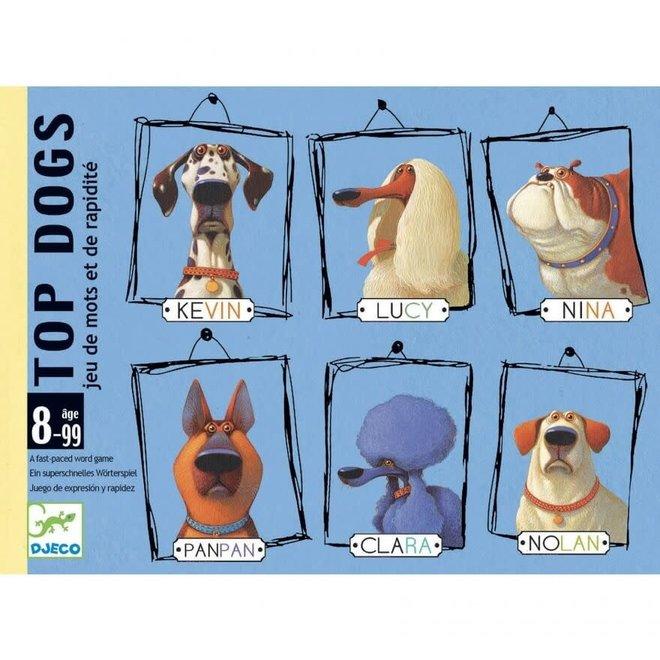 Kaartspel Top Dogs 8+