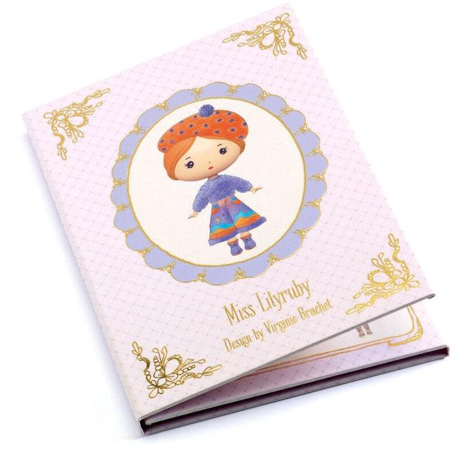 Stickers Tinyly 'Miss Lilyruby'