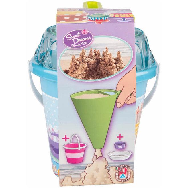 Emmerset Cupcakes met druipzand