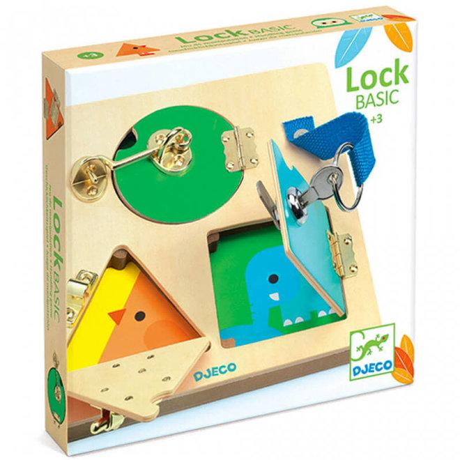 Djeco Slotenbord LockBasic