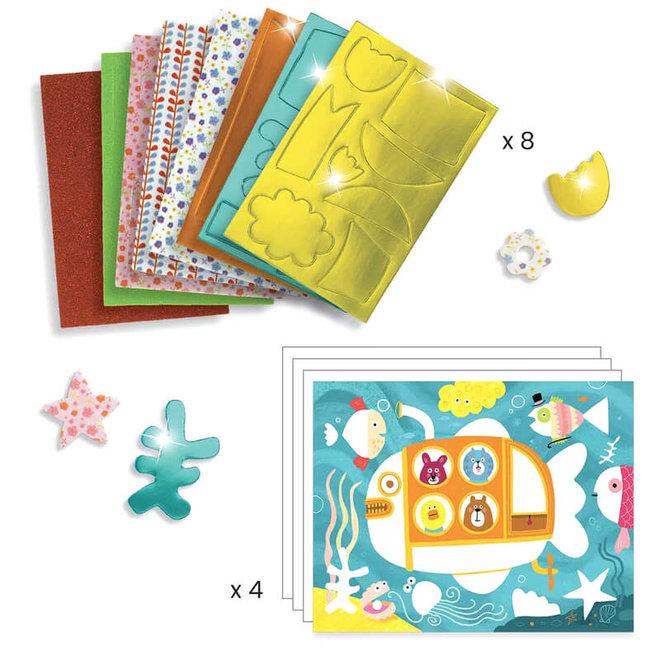Djeco Mozaïek Met Foam Stickers