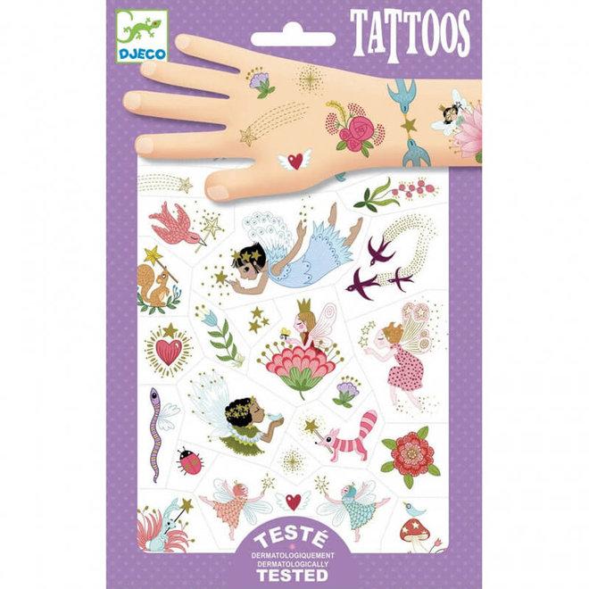 Djeco Tattoos Feeën