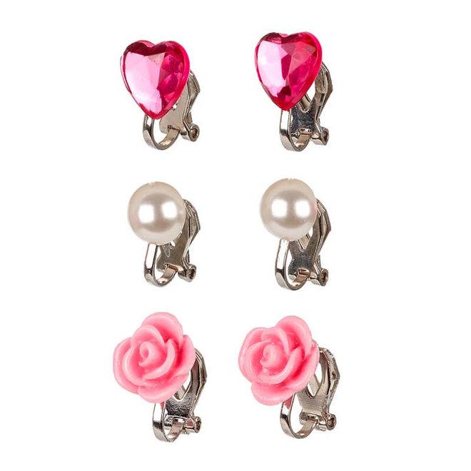 Clipoorbellen Hila roze