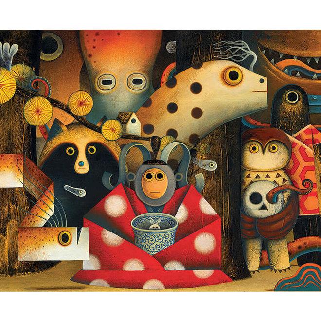 Djeco Puzzel 500 stukjes - Yokai