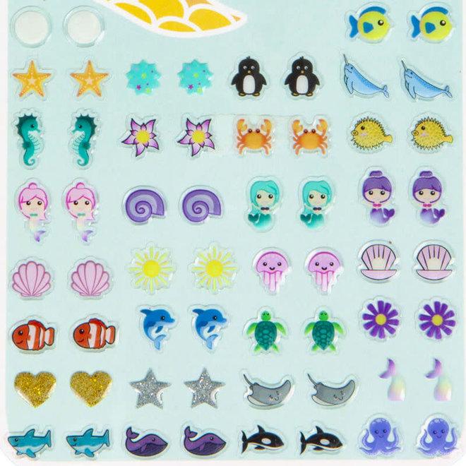 Plakoorbellen zeemeermin (30 paar)