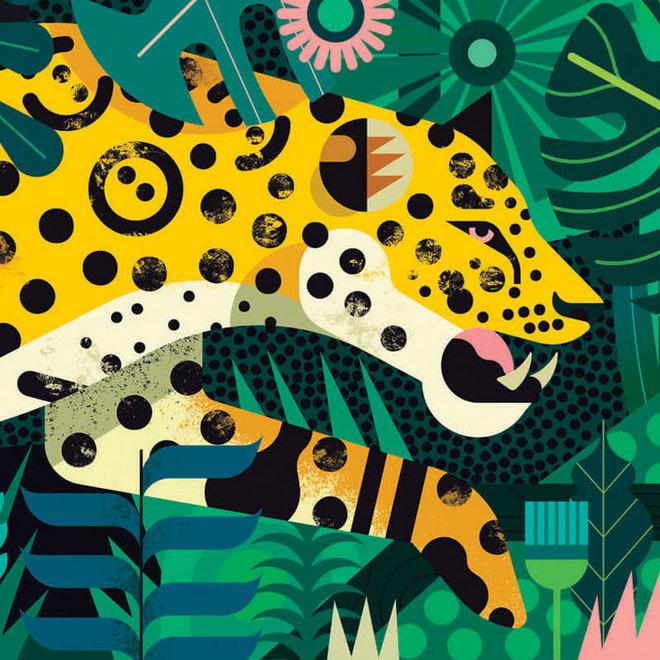 Djeco Puzzel 1000 stukjes - Luipaard