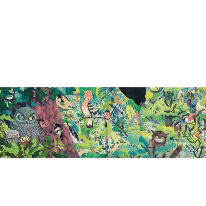 Djeco Puzzel 1000 stukjes - Uilen & vogels