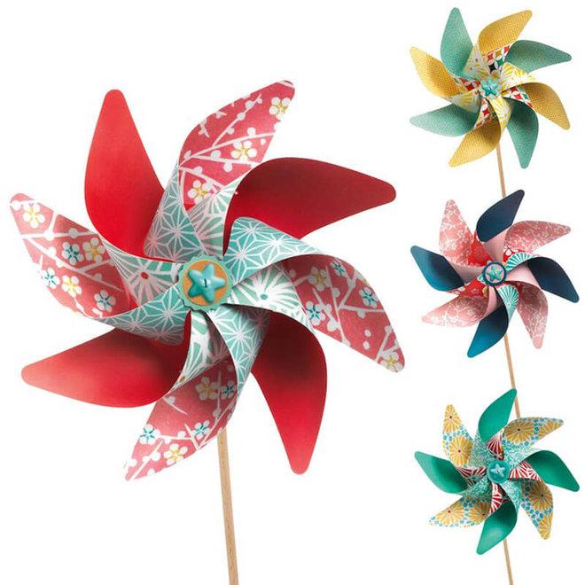 DIY knutselset windmolentjes 5+
