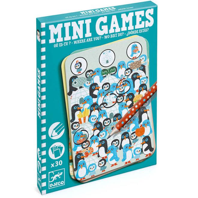 Djeco Mini Games - Waar ben je?