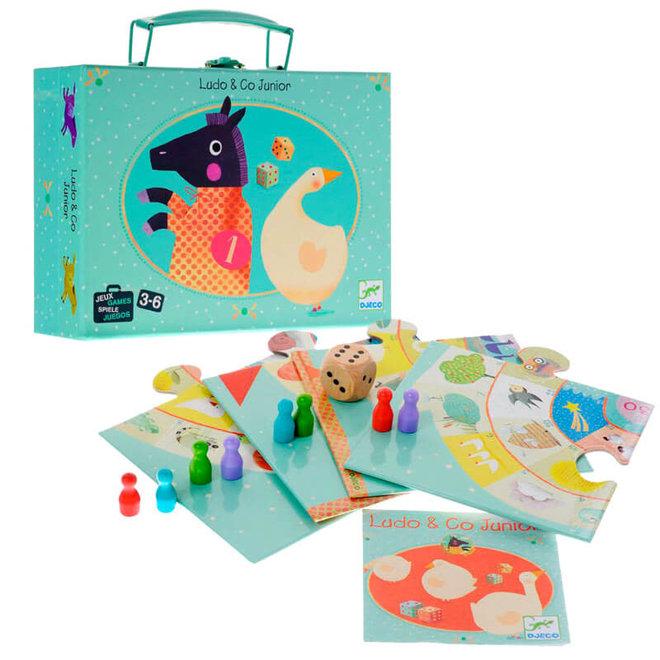 Bordspellen in koffertje (3-6 jaar)