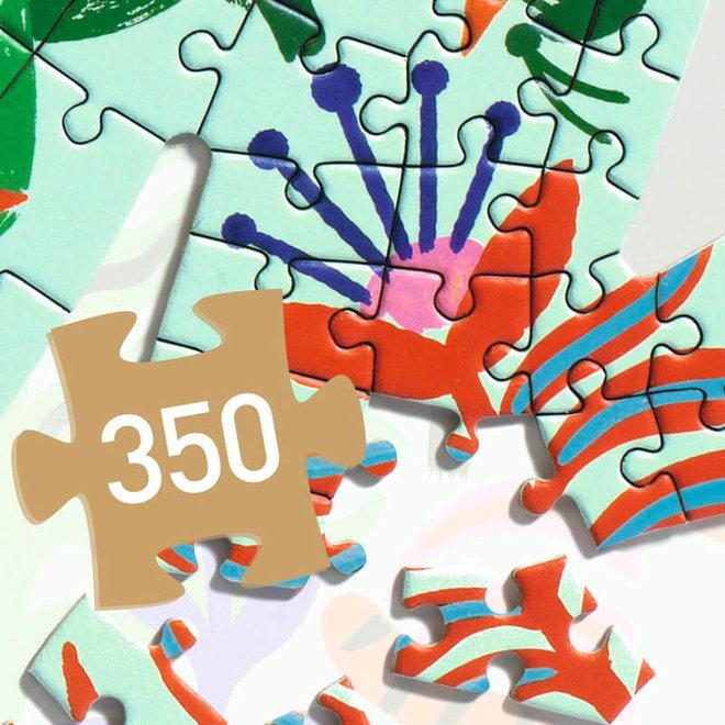Djeco Puzzel 350 stukjes - Aap