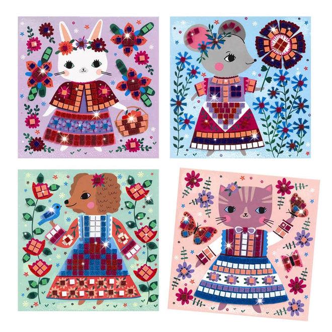 Mozaiek huisdieren (5-8 jaar)