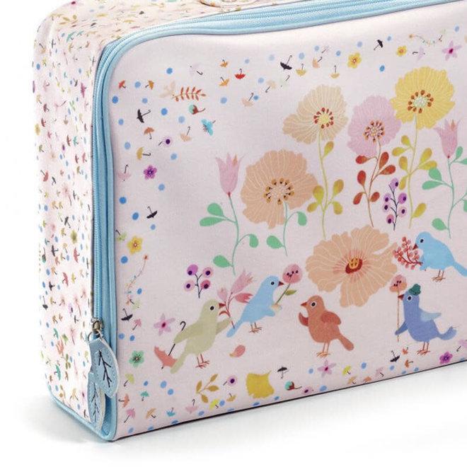 Djeco Kinderkoffer Vogels & Bloemen