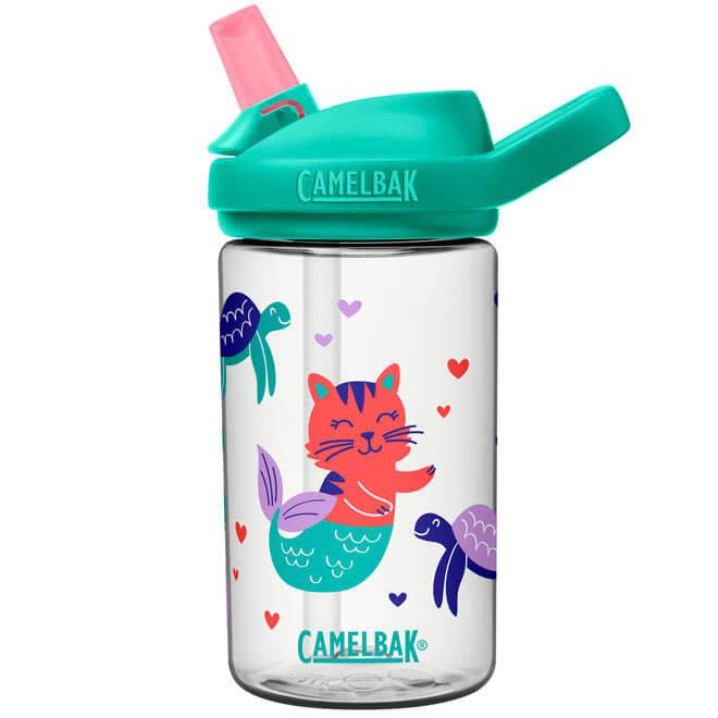 Drinkfles zeemeermin kat
