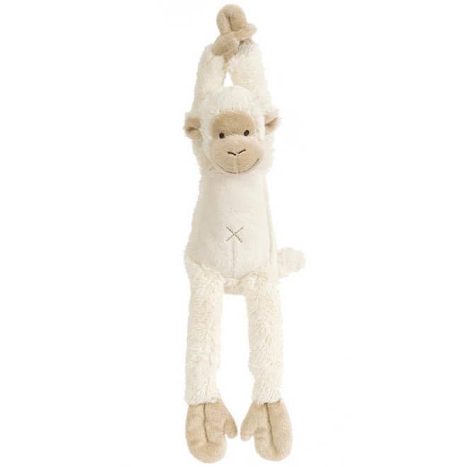 Muziekknuffel witte aap