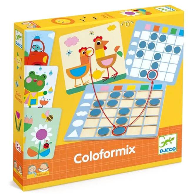 Kleuren en vormen spel 3+