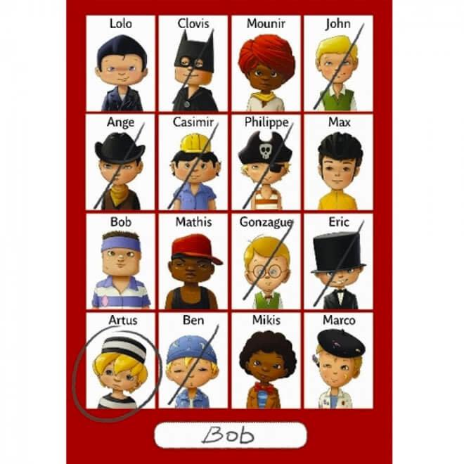 Djeco Mini Logix - Wie ben ik? (jongens)