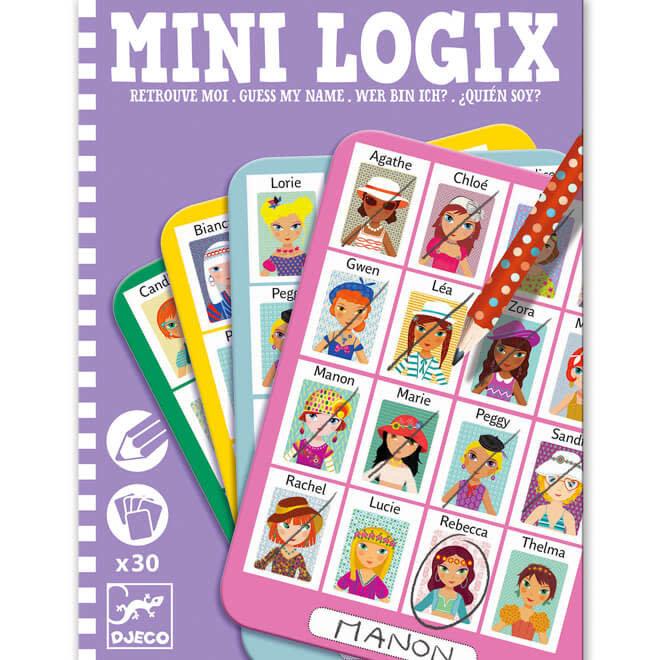 Djeco Mini Logix - Wie ben ik? (meisjes)