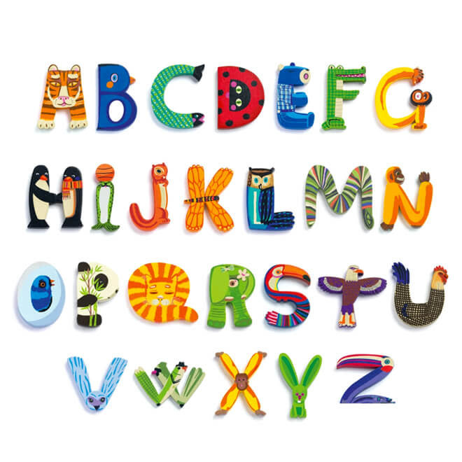 Djeco Dieren Letter - Q