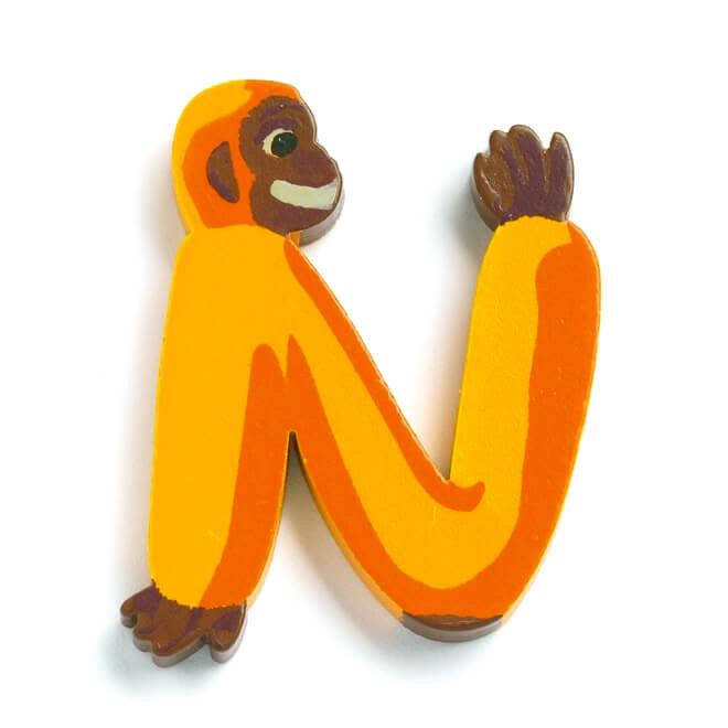 Dieren letter - N