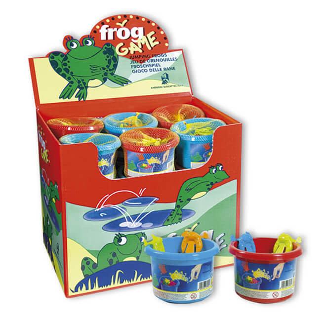 Spel met kikkers