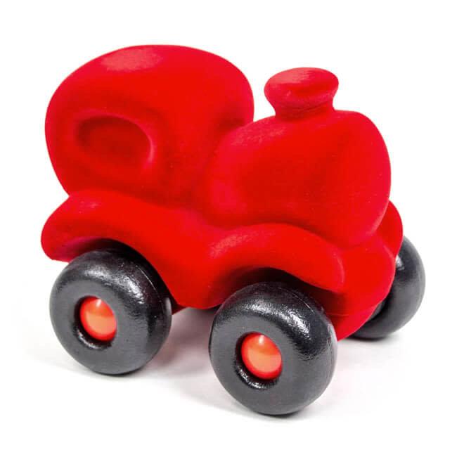 Rubbabu Trein Locomotief Rood