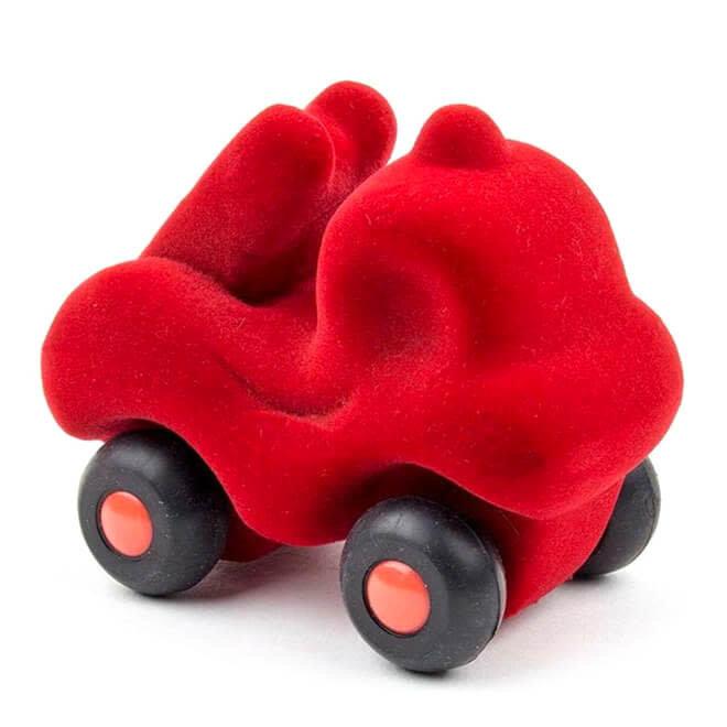 Rubbabu Micro Brandweerauto Rood