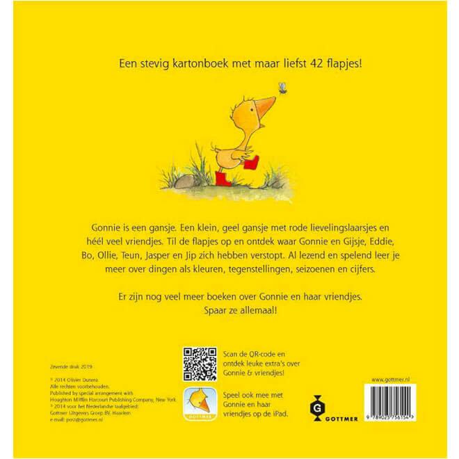 Gonnie & vriendjes in ganzenpas - Een flapjesboek