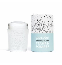 MoYou London MoYou clear stamp & scraper