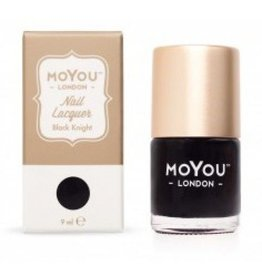 MoYou London MoYou Stempellak 9 ml Black Knight