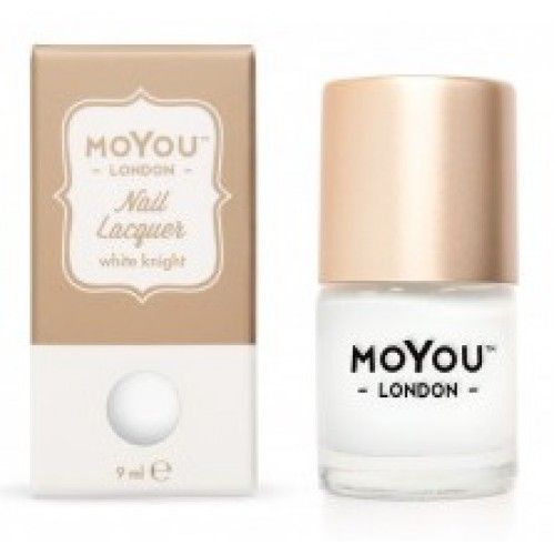 MoYou London MoYou Stempellak 9 ml White Knight