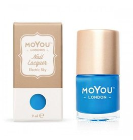 MoYou London MoYou Stempellak 9 ml Electric Sky