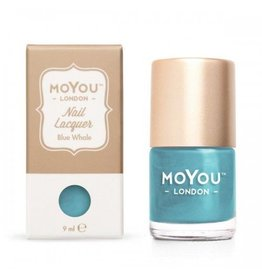 MoYou London MoYou Stempellak 9 ml Blue Whale